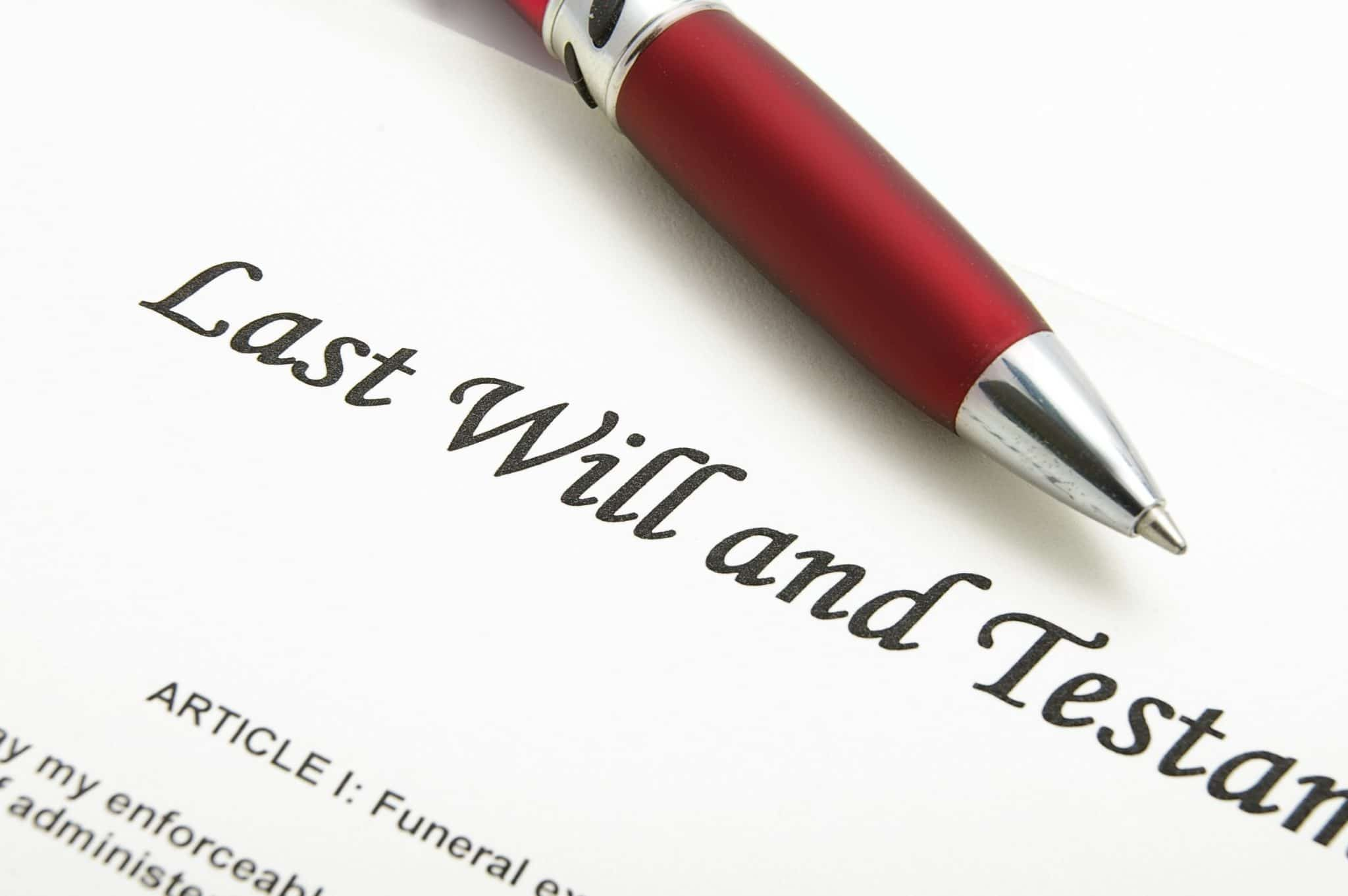 Why do you need a Will?
